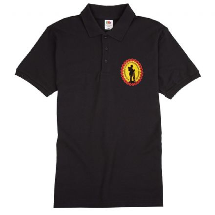 "Poppy Polo Shirt ""We Will Remember Them"""
